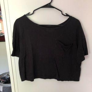 Cropped Pocket T-shirt